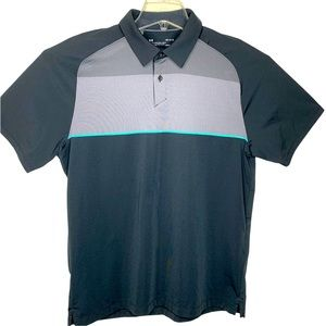 Under Armour Golf HeatGear Quick Dry Loose Polo Shirt Size Large